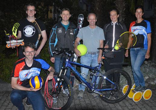 Einige Vertreter der Vereine freuen sich auf das gemeinsame SportMix 4 Kids.
