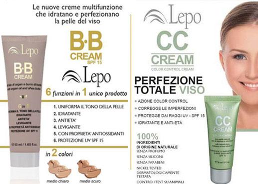 Lepo bb e cc cream