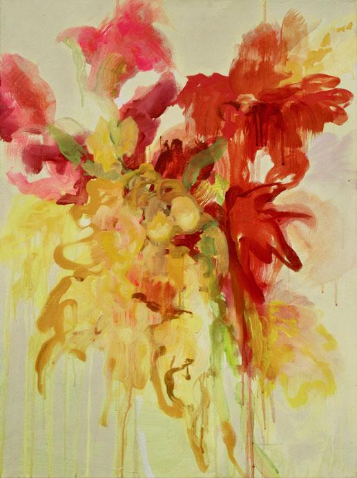 Le bouquet, 2018 Acryl auf Leinwand 80x60
