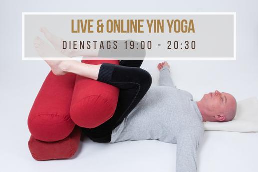 Live Online Yin Yoga René Hug