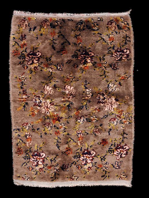 Teppich. Zürich. Semi-antique Rug from Anatolia. Handgeknüpfter Teppich aus Turkey.
