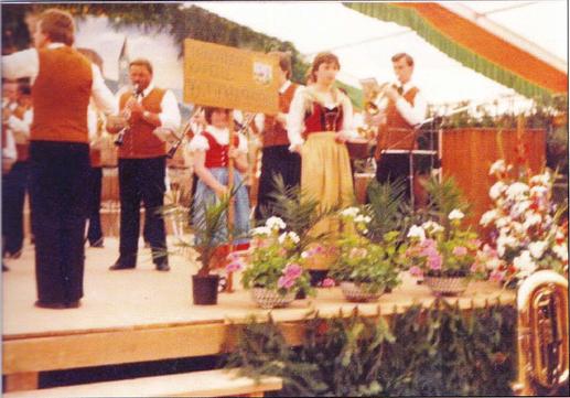 Erster Besuch der Hainersdorfer in Diersburg 1982
