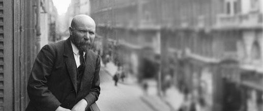 Un des rares portraits d'Albert Kahn