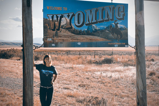 Leben im Wilden Westen, Wyoming, USA, eine Deutsche in Amerika