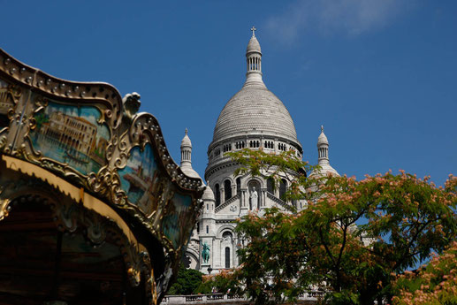 Sacre Coer am Montmartre in Paris