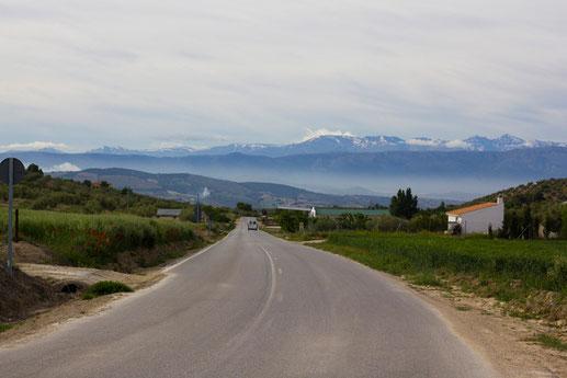 Abenteuerzeilen, Radtour, Andalusien, Radreise
