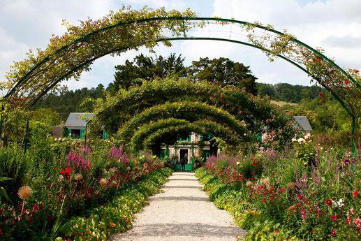 Die Gärten von Claude Monet in Giverny