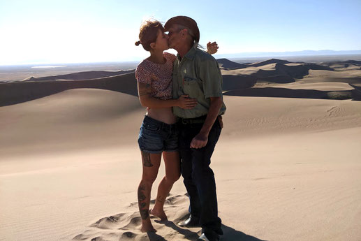 Road trip Great Sand Dunes National Park, couplegoals