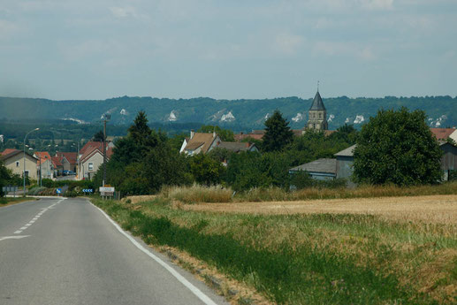 Beautiful countryside close to Rouen, Normandy