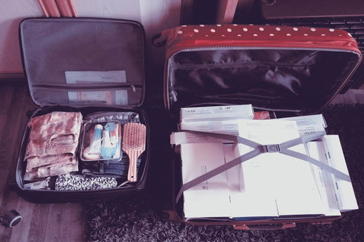 Medication and luggage, chronic disease, Ulcerative Colitis, airport