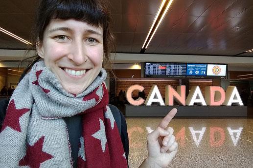 Flughafen Calgary, Einreise Kanada, ETA