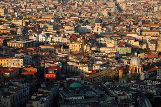 Neapel von oben, Castel Sant'Elmo