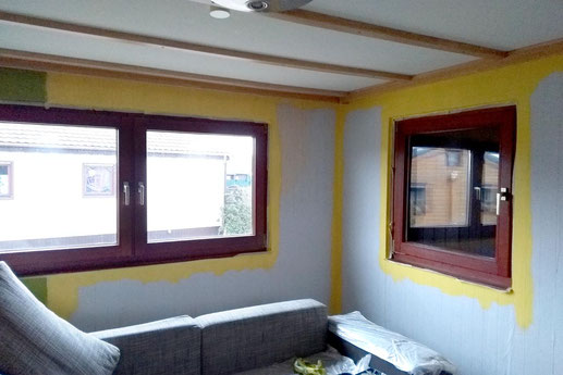 Painting in a Tiny House, Tiny House Improvement, lonelyroadlover