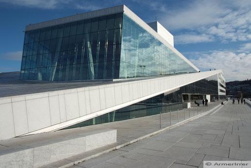 Das neue Wahrzeichen von Oslo - die Oper