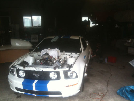 Mustang GT Dragsterumbau