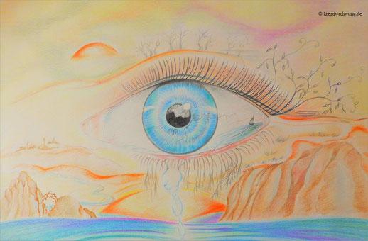 Das Auge in der Landschaft