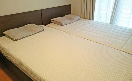 オーダーメイド枕とマットレスのお届け 福岡市東区H様 / SLEEP CUBE WATAYA