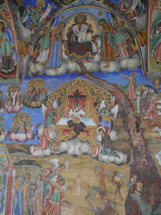 Das Jüngste Gericht im Rilakloster