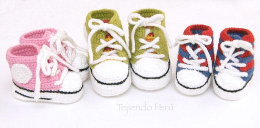 Zapatillas Bebes Sneakers Perú O Para Tejiendo wkn8OP0