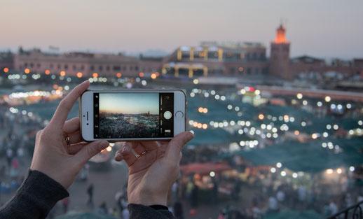 Marrakech e Jemaa el Fna