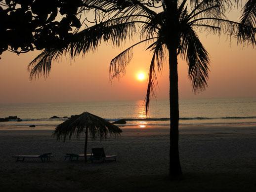 Am Strand von Ngwe Saung (Myanmar)