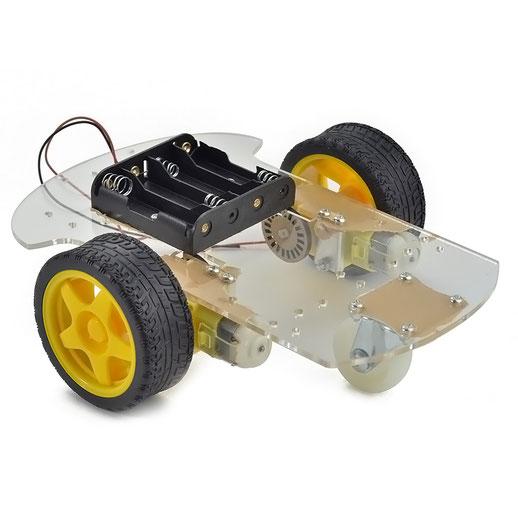 plataforma movil rotobica, carrito robot, robotica, guatemala, electronica, electronico, carro robotico