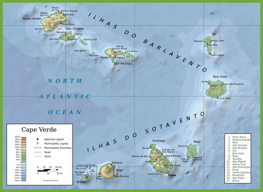 Image: http://ontheworldmap.com/cape-verde/cape-verde-physical-map.html