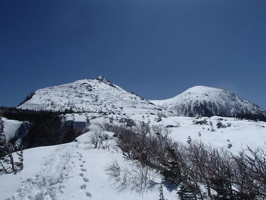 天狗岳 雪山 登山 ガイド