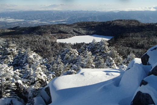 八ヶ岳雪山登山ガイド