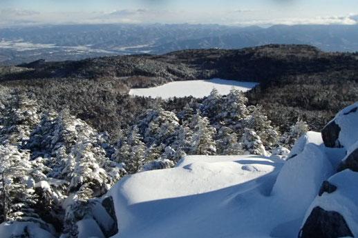 八ヶ岳 雪山 登山 ガイド