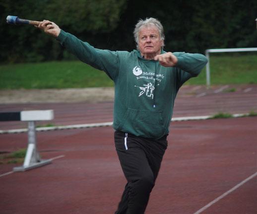 Auch der gehandicapte Gerhard Zachrau zog sich achtbar aus der Affaire!