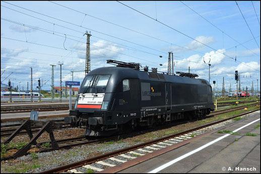 182 598-3 wartet am 7. August 2021 in Leipzig Hbf. auf neue Aufgaben