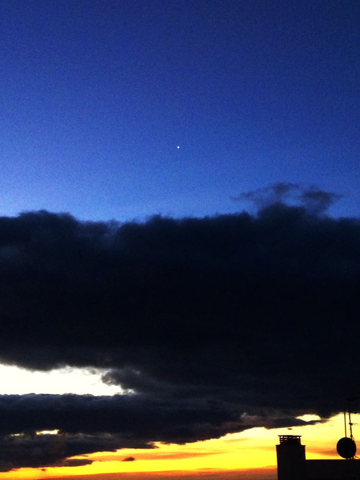 Venus o el lucero el alba.