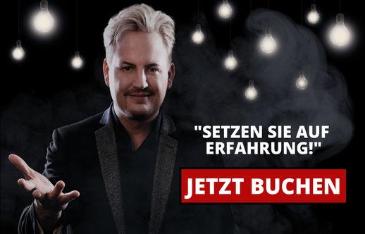 Zauberer Hamburg, Zauberer Kiel, Deutschlandweit. Jeff de Fire
