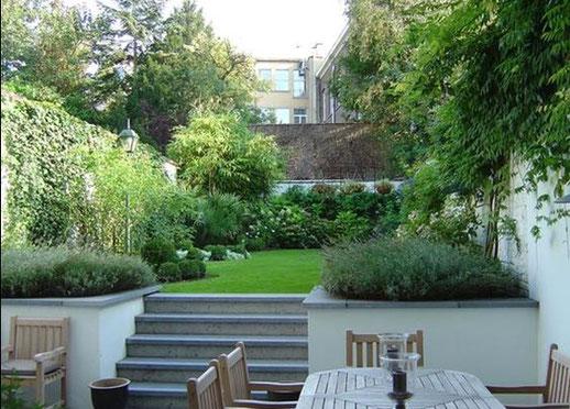 Petits jardins urbains rc paysage for Petit jardin de ville