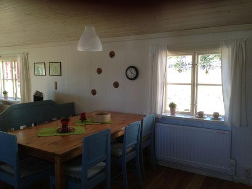 Ferienhaus in Schweden, am See, mit Boot, günstig, billig