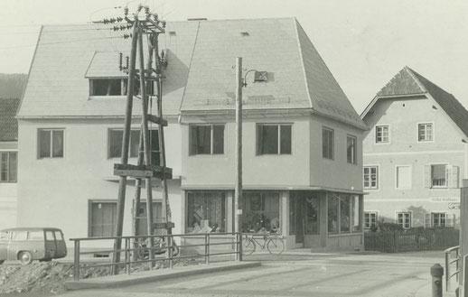 Trachtengeschäft Wernbacher altes Geschäft