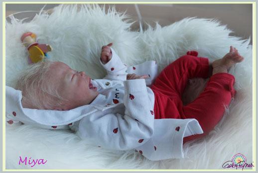 Miya AK Kitagawa , Rebornbaby, Puppe wie echt , Reborn , Zauberwesen