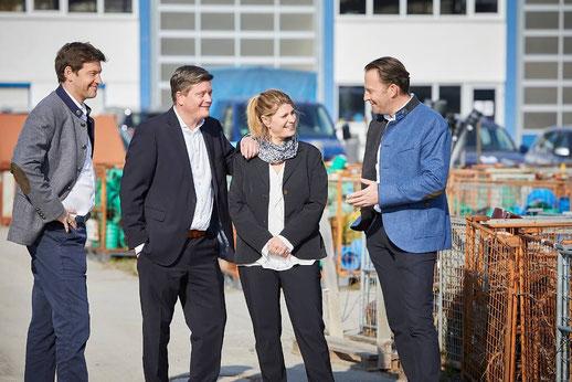Gesellschafter Christian Wilhelm, Markus Strommer, Simone Strommer, Marcus Wilhelm