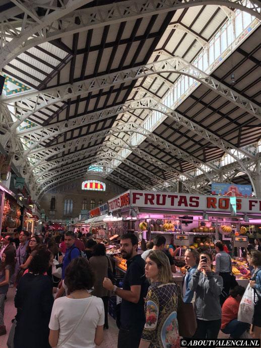 Mercado central Valencia Markt