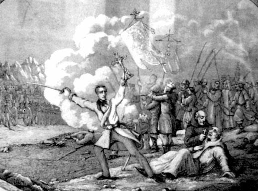 Krakauer Aufstand 18.02.1846, Bild: Wikipedia, Maciej Szczepańczyk