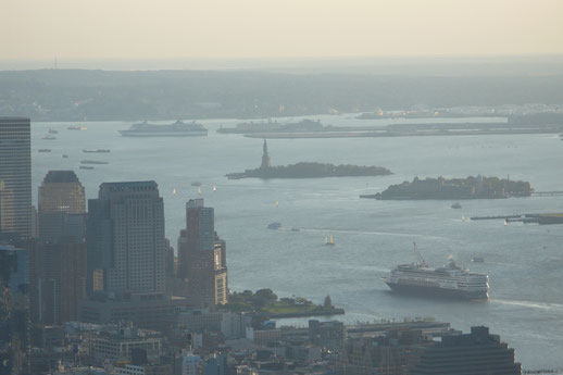 New York, Blick vom Empire State Building
