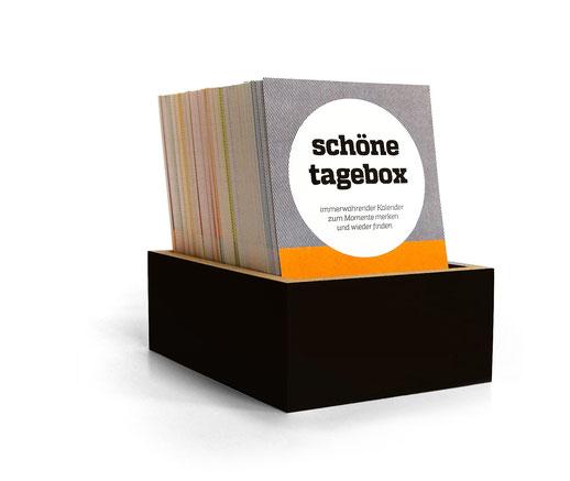 schönetagebox – Kombination aus Kalender und Tagebuch von sperlingb.design