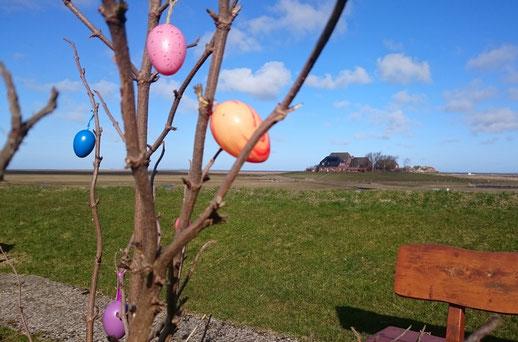 Bunte Eier und Schokoladen - Es ist Ostern auf Hooge