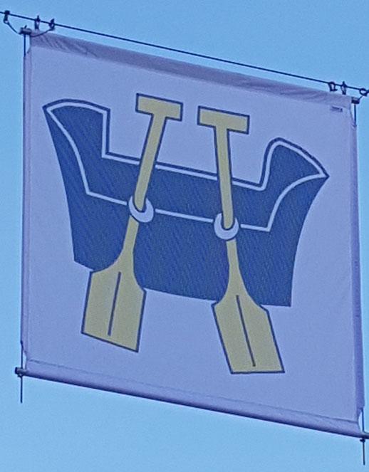 Näfelser Dorffahne (die Richtige) (Foto: Gemeindepräsidium Glarus)