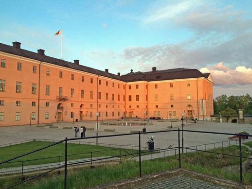 Das Schloss von Uppsala.