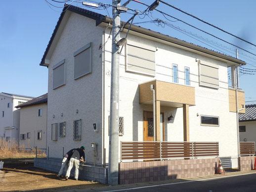 木造住宅2階建て 5LDKロフト付