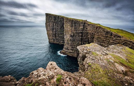 Fotoreise Färöer - Slave Rock, Trælanípan