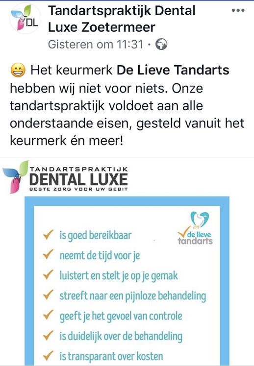 Nieuws Van De Lieve Tandarts Tandarts Nederland