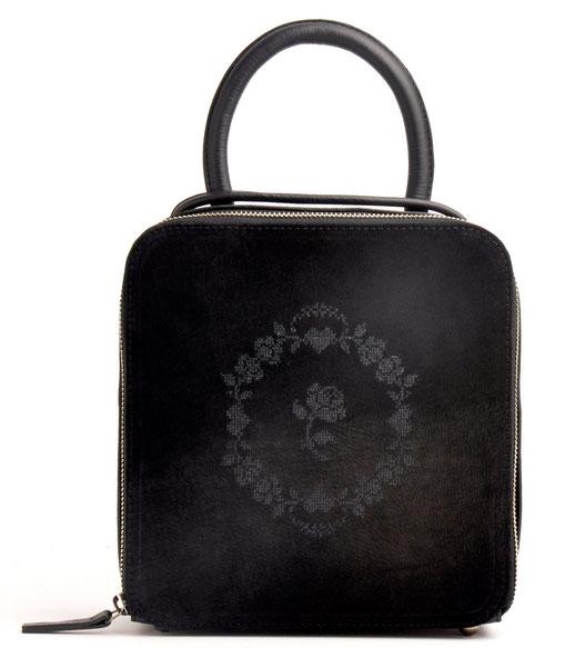 Handtasche AMELIE - DUNKELBRAUN Owa Af69lXL